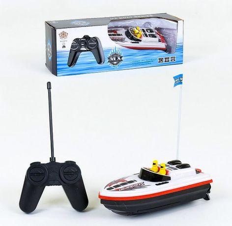 Игрушка катер на радио-управлении Яхта на пультуПульте управления ру