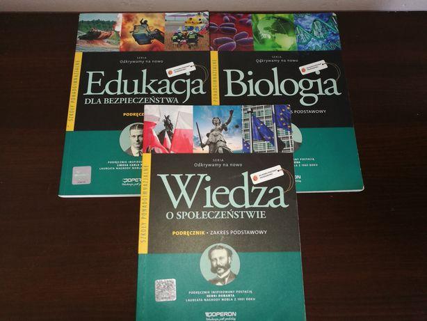 Podręczniki Operon Wos, edb, biologia