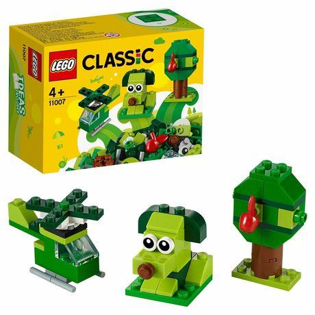Новый конструктор зелёный Lego classic