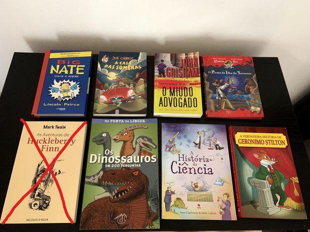 Livros Infantis Usados