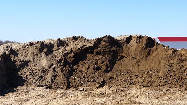 Ziemia, humus duże ilości, ściągnięty prosto z pola uprawnego