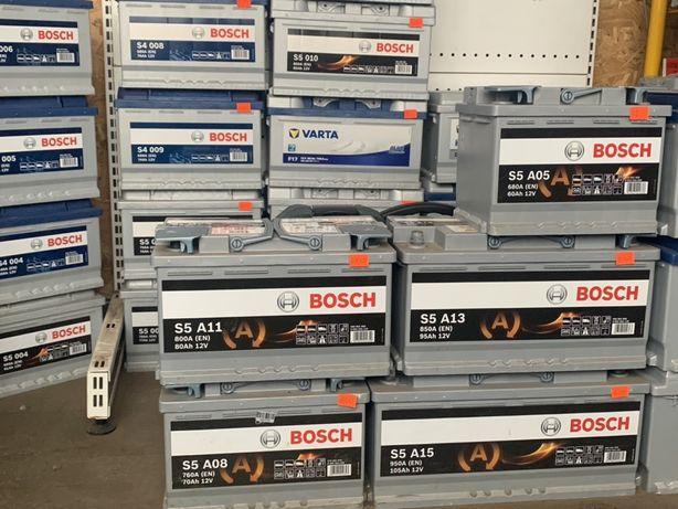 Аккумуляторы Bosch&Varta