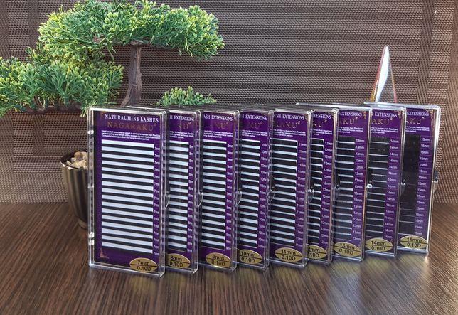 Материалы для наращивания ресниц.Ресницы Нагараку.Клей Скай.
