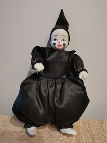 Czarny harlekin - porcelana