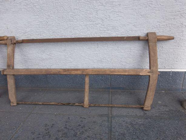 stara ręczna piła stolarska