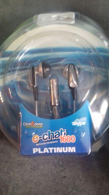 Słuchawki przewodowe platinum