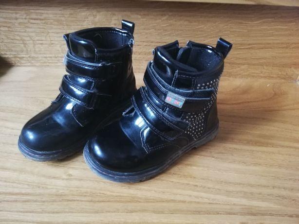 Kozaczki buty zimowe dla dziewczynki r. 26
