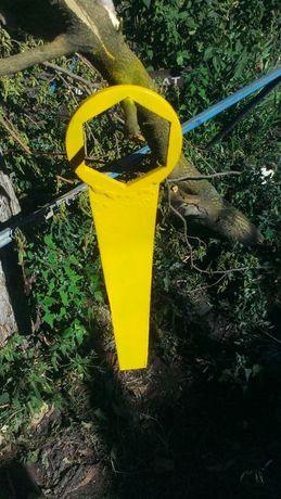 Гаечный ключ, сувенир прикол подарок желтый метал