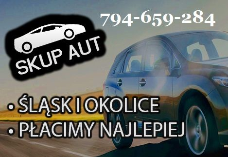 Auto skup skup aut Transport i wycena gratis BYTOM LAWETA ZŁOMOWANIE