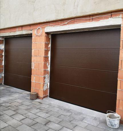 Brama garażowa segmentowa BRĄZ 2750X2250