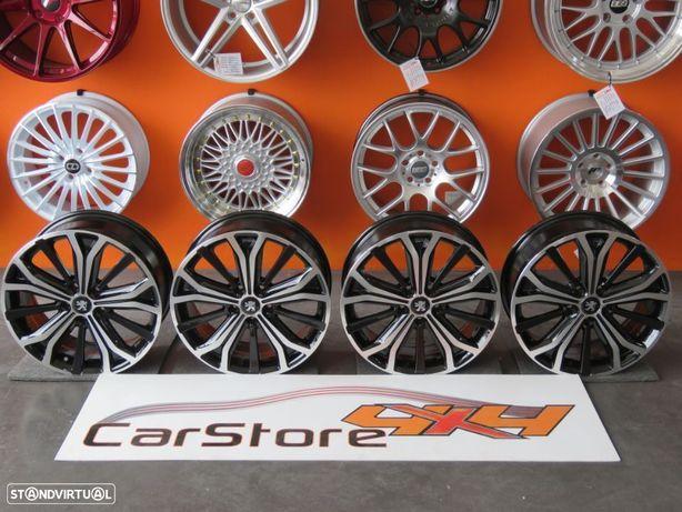 Jantes Peugeot 17 x 7 et 46 5x108 Pretas / polidas