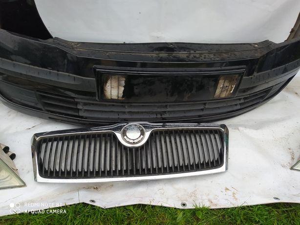 Продам бампер крило фари решітку радіатора до Skoda Oktavia A5