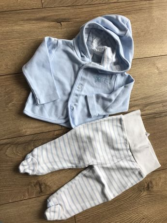 Bluza spodnie półspioszki zestaw 62