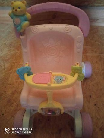 Pchacz wózek dla lalek.