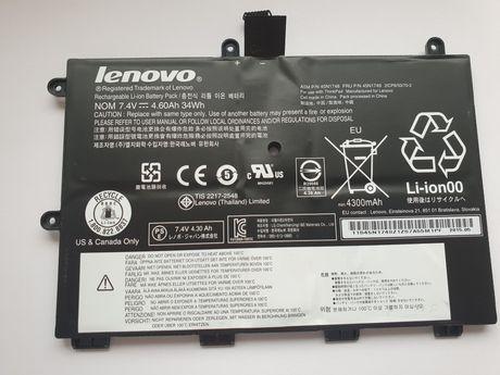 Bateria Lenovo ThinkPad 11e, 20DA, 20D9, Yoga, 45N1748, 45N1749, 5h!