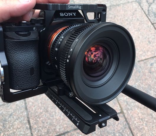 Sony E-Mount SLR Magic MicroPrime 12mm 2,8 cine