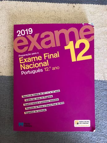 Livro preparação exame nacional português