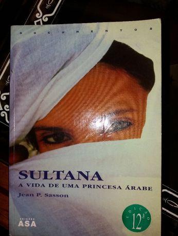 Livro Sultana a vida de uma princesa arabe