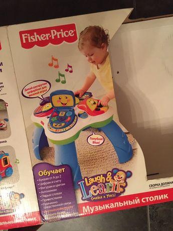 Fisher Price музыкальный столик
