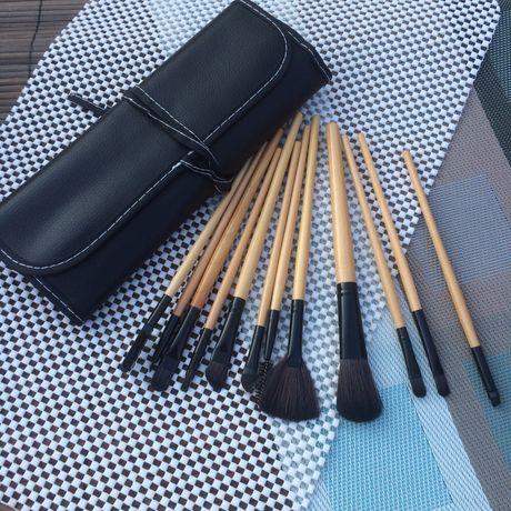 Набор кистей для макияжа 12 шт. кисти для макияжа в чехле