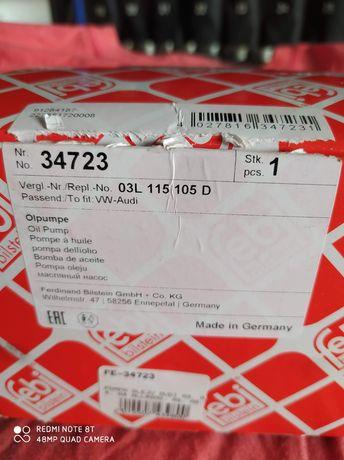 Pompa olejowa nowa paragon 03L 115 105 D grupa wv