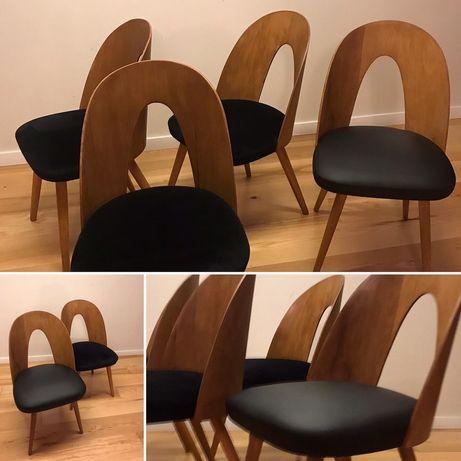 Krzesła czeskie z lat 60 proj. A.Suman