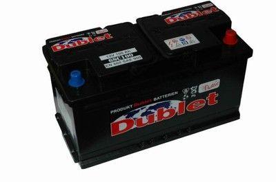 AKUMULATOR 100Ah L+900A 12V Akumulatory DUBLET 100