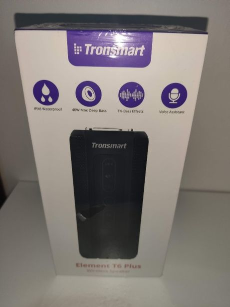 Tronsmart Element T6 Plus 40W Bluetooth 5.0 - Coluna Bluetooth SELADA