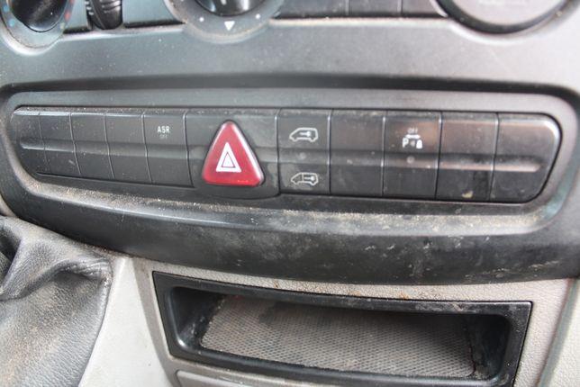 panel przełączniki zamek centralny awaryjne Mercedes Sprinter W906