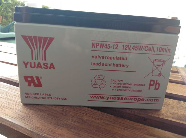 Bateria Chumbo Yuasa 12V45W