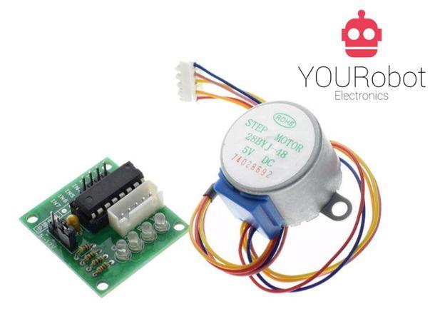 Stepper Motor 5V + circuito de controlo NOVOS para Arduino