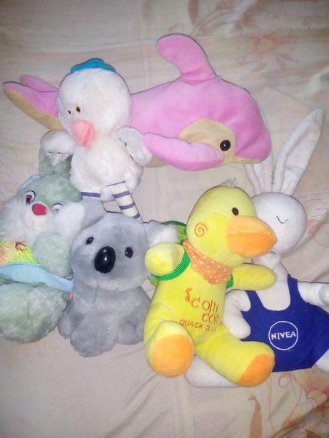 Мягкие игрушки по 100 рублей