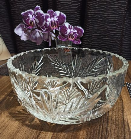 Срочно ваза - конфетница хрусталь