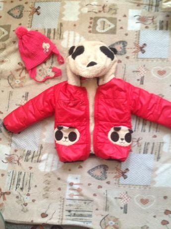 Курточка демисезонная на девочку 1 года