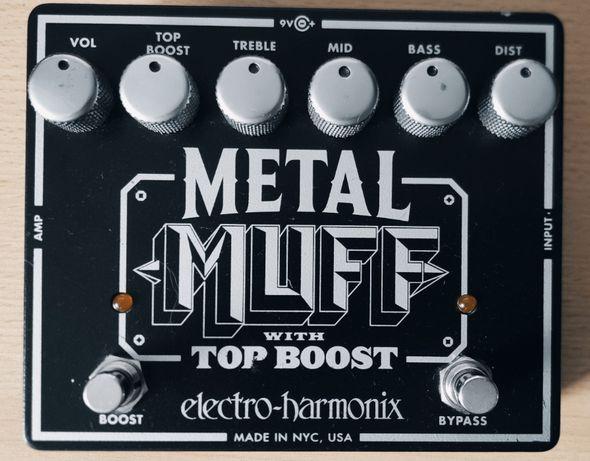 Electro-Harmonix EHX Metal Muff Top Boost efekt gitarowy distortion