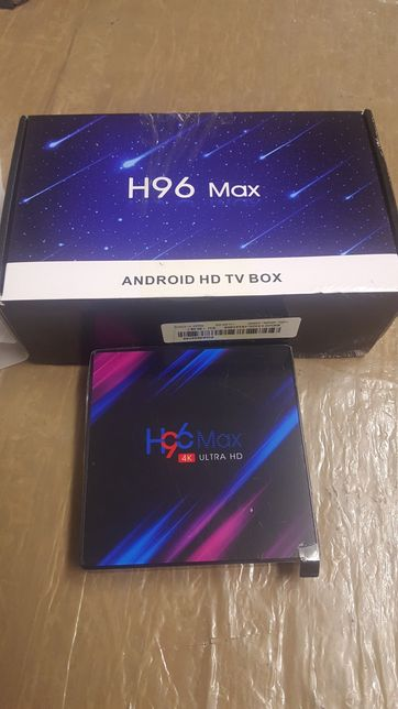 Box android 4k Nova 4gb/32gb