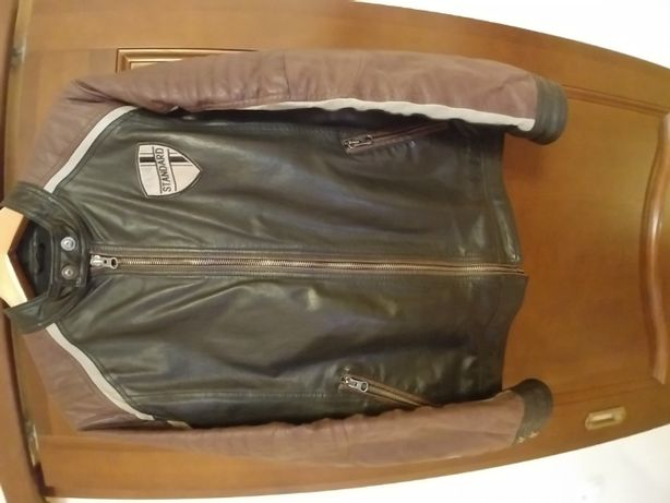 Кожаная куртка мужская TOM TEYLOR