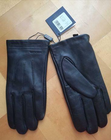 Nowe rękawiczki męskie skórzane Wittchen rozm. M