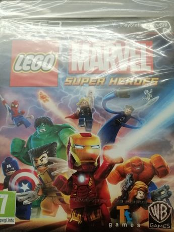 Lego Marvel  Super Heroes PS3 nowe