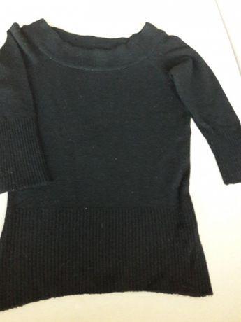 Czarny sweterek Madonna