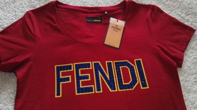 Koszulka Fendi nowa r. M - 38