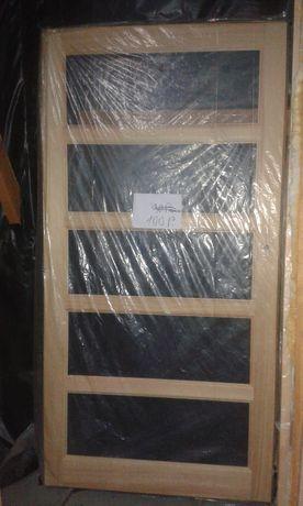 Drzwi drewniane wewnątrzne sosnowe