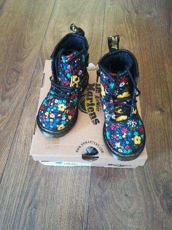 Dr Martens Boots w Kwiaty dla dziecka UK 5.5