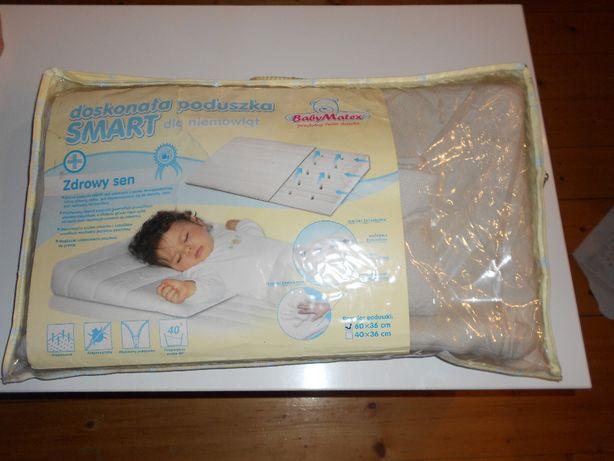 Poduszka Smart klin BabyMatex 60x36 cm Baby Matex
