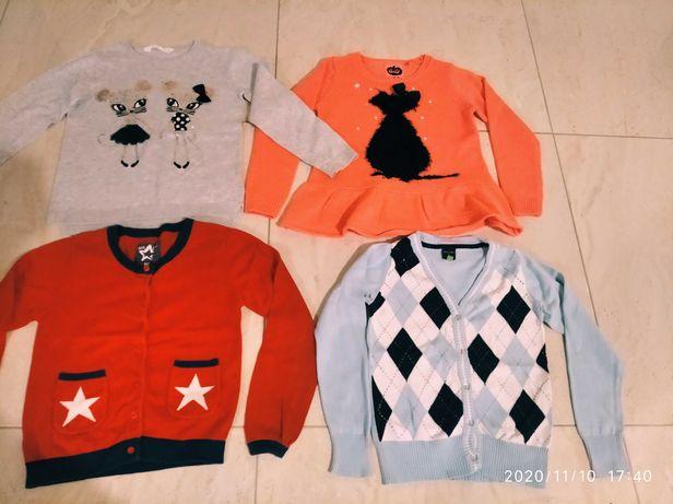 Elegancki sweter sweterek H&M , Cool club - zestaw