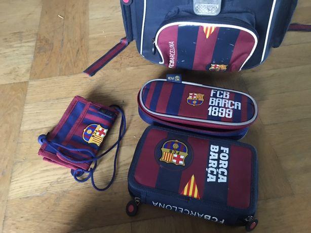Plecak tornister szkolny FC Barcelona