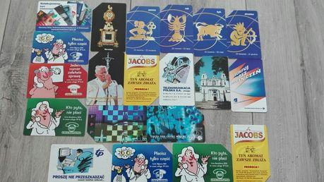 Karty telefoniczne dla kolekcjonera okazja