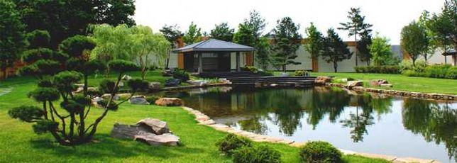 Газон, полив, проектирование, водоемы, озеленение, благоустройство.