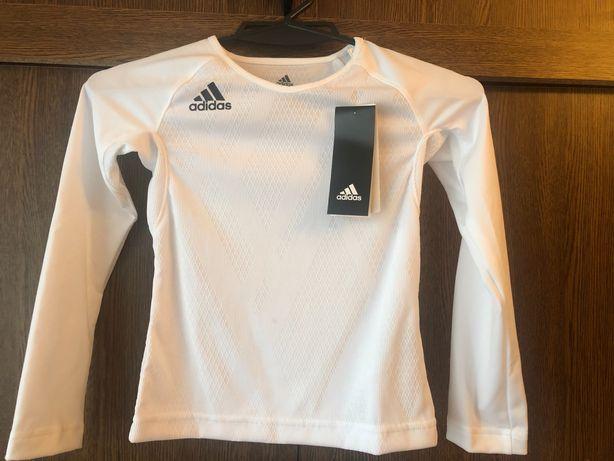 Футболка с длинным рукавом на девочку Adidas