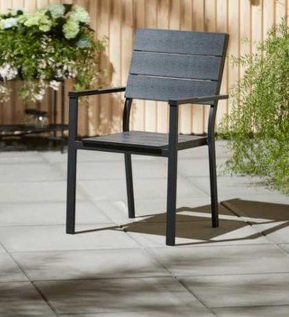 Krzesło ogrodowe aluminiowe